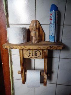 Klopapierhalter - Toilettenpapierhalter - ein Designerstück von RedDuck bei DaWanda