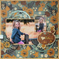 I <3 Fall - Scrapbook.com