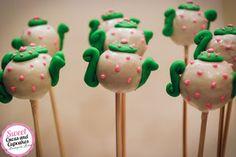 Sweet Cucas and Cupcakes by Rosângela Rolim: Pop Cakes Bules para Chá de Bonecas
