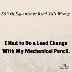 Did you read it wrong? Re-pin when you get it! #equestrian #problems