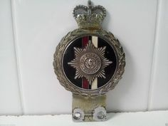 Vintage Original The Cheshire Regiment Car Badge Mascot By J.R.Gaunt London (06/29/2015)