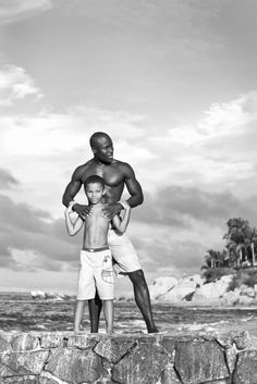 Father & son by Nicole Collier Photography