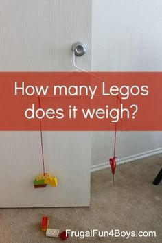 Lego Math: How Many Legos Does it Weigh? by annmarie