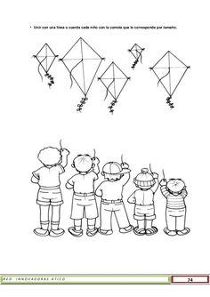 Preschool Learning, Preschool Activities, Teaching, Kite Designs, Worksheets For Kids, How To Plan, Education, Happy Children, Preschool