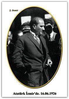 Atatürk İzmir'de. 16.06.1926