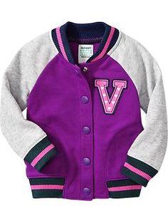 Fleece Varsity Jackets for Baby | Old Navy