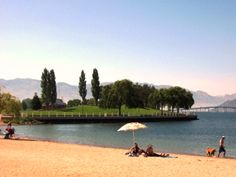 Tugboat Bay has unbeatable views of Lake Okanagan located at 1200 Water Street.