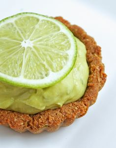 Lime-tastic Tartlets (Low Carb, SF, GF) using 2 Hass Avocadoes