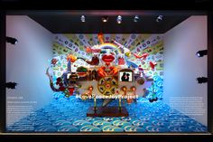 See the Most Gorgeous N.Y.C. Holiday Window Displays of 2016 - Barney's New York: Love Peace Joy Project from InStyle.com