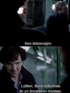 22 great lines selected from the mind-blowing scenes of the Sherlock series - georgina Sherlock Bbc, Sherlock Poster, Funny Sherlock, Sherlock Series, Benedict Cumberbatch Sherlock, Emma Swan, Best Fanfiction, Mrs Hudson, Reading