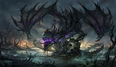 Creepy dragon!
