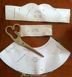 Carpatina free dress pattern
