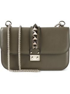 Shop Valentino Garavani 'Glam Lock' shoulder bag in  from the world's best independent boutiques at farfetch.com. Over 1000 designers from 300 boutiques in one website.
