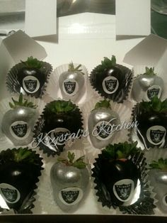Oakland Raiders Edible Birthday Cake Topper Or Cupcake