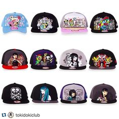 f9d63f72e 81 Best tokidoki Hats images in 2019 | Hats, Snapback, Fashion