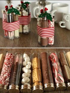 its a simple christmas gift hot cocoa kit and youll be the talk of the town if you make these this holiday season as theyre so fast and easy to make