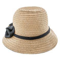 6f396d41f6e84 Jeanne Simmons Toyo Straw Bucket Hat - 8230 Downton Abbey Fashion
