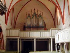 Orgel in der Kirche in Niepars bei Stralsund