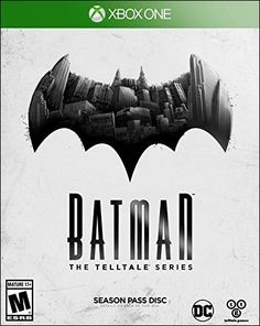 Batman - The Telltale Series For Xbox 360 (Physical Disc) Games For Playstation 4, Ps4 Or Xbox One, Video Games Xbox, New Video Games, Geek Games, Xbox 360 Games, Wii, Gotham City, Batman Telltale