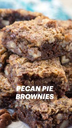 Perfect Brownie Recipe, Fudgy Brownie Recipe, Cookie Brownie Bars, Brownie Recipes, Cookie Recipes, Dessert Recipes, Brownie Trifle, Mini Desserts, Just Desserts
