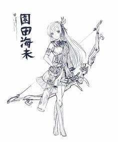Sonoda Umi (Archer/Ranger)