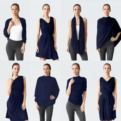 The Chrysalis Cardi is a multiway piece that can be worn ways. Perfect for getaways and everyday adventures alike. Ethically made. Convertible Clothing, Travel Dress, Clothing Hacks, Capsule Clothing, Clothing Ideas, Sustainable Fabrics, How To Feel Beautiful, Capsule Wardrobe, Sportswear