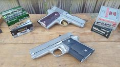 Collector's Corner: Detonics Combat Master, The Original Compact 1911 - Gunners Den Pocket Pistol, 45 Acp, Airsoft Guns, Concealed Carry, Will Smith, Hand Guns, Den, Compact, History