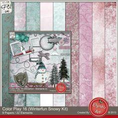 CP 16 Winterfun Kit 21 by Elysah's Art