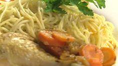 Bulgursaláta - Receptek - Laptopkonyha - videó receptek képpel Wok, Spaghetti, Ethnic Recipes, Noodle