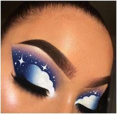 Makeup Eye Looks, Eye Makeup Art, Crazy Makeup, Skin Makeup, Makeup Inspo, Eyeshadow Makeup, Beauty Makeup, Eyeshadows, Makeup Tips