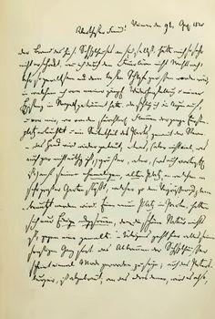 Brief van Christian August Vulpius (1762-1827) zwager van Goethe