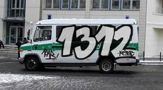 1312  acab SHEISSE POLIZEI