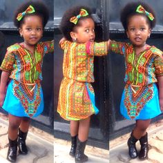#Ranny~Pretty~Prints > Cute Mckenzie style for little girls/Tanzania