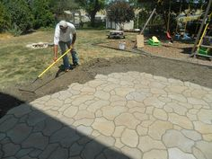Patio Ideas On A Budget | Picture 29 of 31 - Stone Patio Designs 2014 - (1024 x 768)