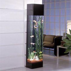 Midwest Tropical Rectangle AquaTower - 30 Gallon Freshwater Acrylic Aquarium (RT-3000)