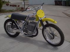 The 1973 Maico 501 Square-barrel, guaranteed to take the boredom out of your trail ride!!