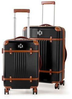 edd639c55b5 Mark And Graham Terminal 1 Checked and Carryon Spinner Set Mark And Graham,  You Bag