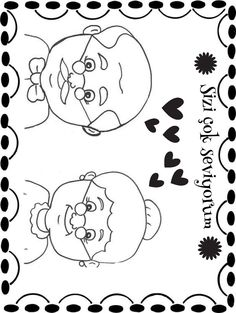 Finish the Drawing: What Does His Hairstyle Look Like? Finish the Drawing: What Does His Hairstyle L Grandparents Day Cards, National Grandparents Day, Tie Template, Teacher Thank You Cards, Preschool Schedule, Cup Crafts, Step Kids, Hairstyle Look, Baby Art
