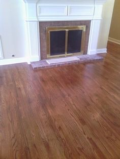 Early american stain on red oak home pinterest for Catwalk flooring