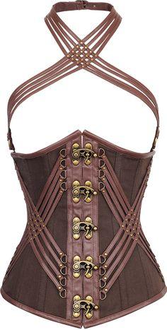 The Violet Vixen - KingsRoad Brown Corset, $149.00 (http://thevioletvixen.com/corsets/kingsroad-brown-corset/)