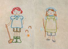 4 Seasons Stitchettes (Wee Wonderfuls pattern)