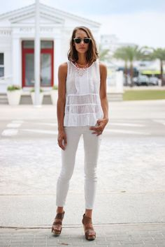 @thefoxandshe wearing t+j Designs #pastel.
