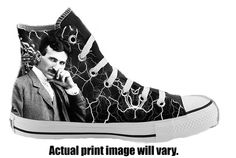 Hey, I found this really awesome Etsy listing at https://www.etsy.com/listing/175258513/nikola-tesla-custom-converse-all-stars