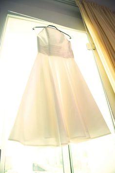 Hochzeitskleid am Hacken. Foto: augenkundig.de Kleid: www.noni-mode.de