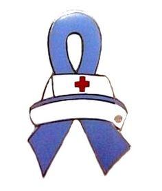 Pulmonary Hypertension Lapel Pin Awareness Periwinkle Ribbon Nurse Cap Nursing #LapelPinsSource #AwarenessLapelPinTac