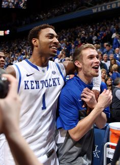 James Young (1) and Jarrod Polson <3
