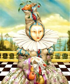 Agnès Boulloche ~ Fantastic Surrealist painter | Tutt'Art@ | Pittura * Scultura * Poesia * Musica |