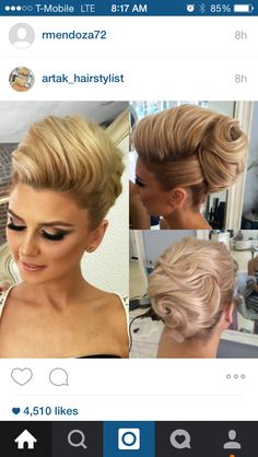 Blessed to have the most beautiful clients elegant up do for this beauty makeup by hairbyme almost 2 month left for my seminar in la at you can purchase your ticket by clicking the link in mi bio so happy to meet you all Beehive Hairstyles, Vintage Hairstyles, Up Hairstyles, Pretty Hairstyles, Wedding Hairstyles, Wedding Hair And Makeup, Hair Makeup, Peinado Updo, Hair Up Styles