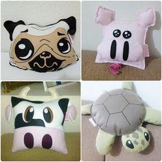 Olá gente! Hoje venho mostrar para vocês uma loja que encontrei no Airu que confecciona almofadas de vários personagens e artistas além de ...