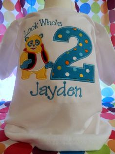 Special Agent Oso Personalized Custom ABC Birthday Shirt in 8 Different Colors